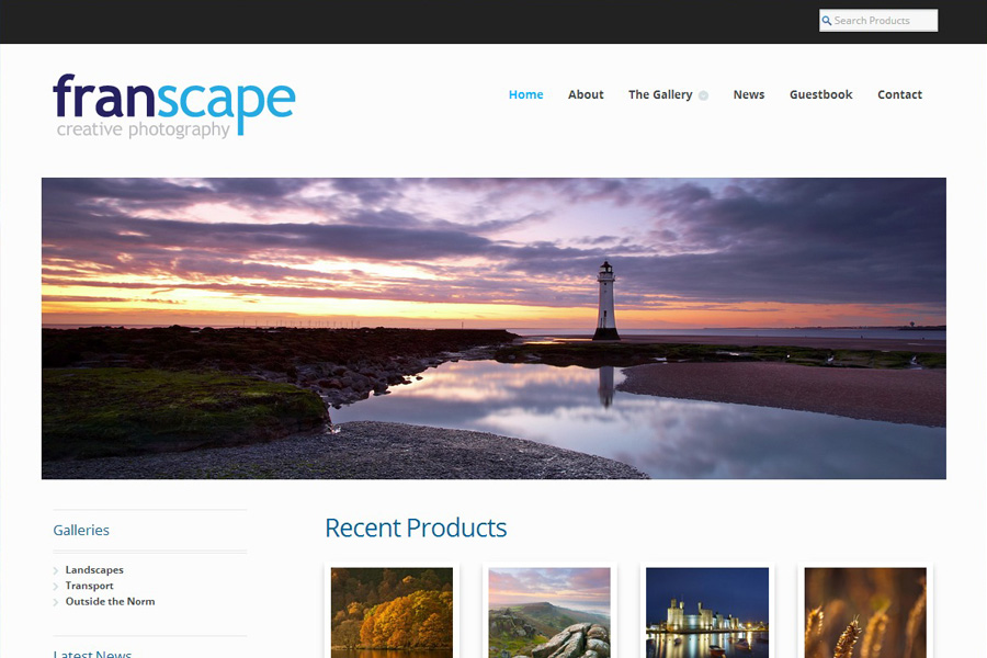 www.franscape.co.uk New Website